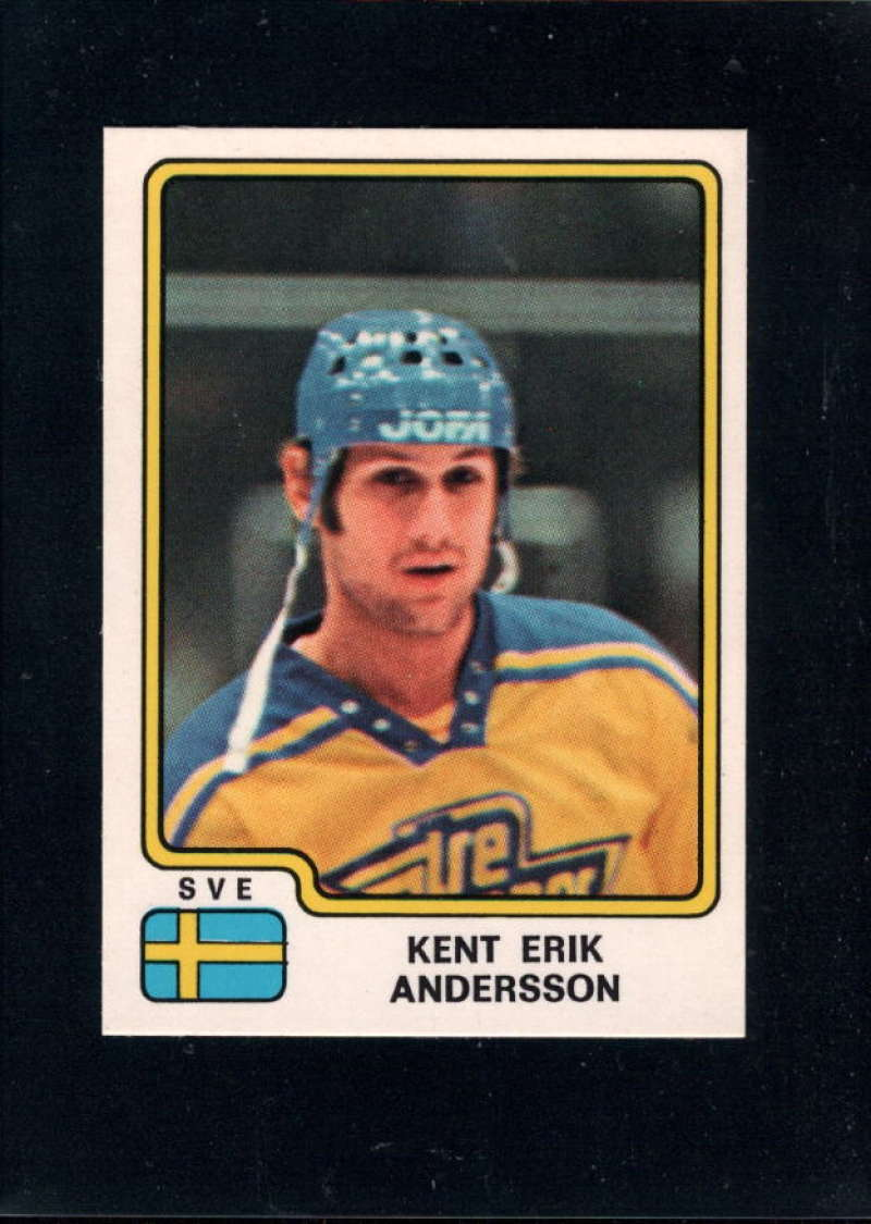 1979-80 Panini World Championship Stickers #200 Kent-Erik Andersson NM Near Mint Sweden