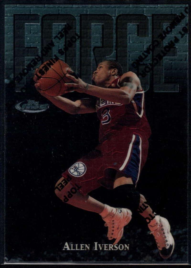 1997-98 Topps Finest #143 Allen Iverson Silver NM-MT+