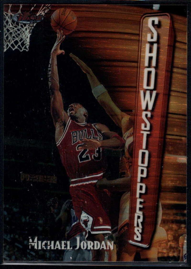 1997-98 Topps Finest #271 Michael Jordan Bronze NM-MT+ Chicago Bulls