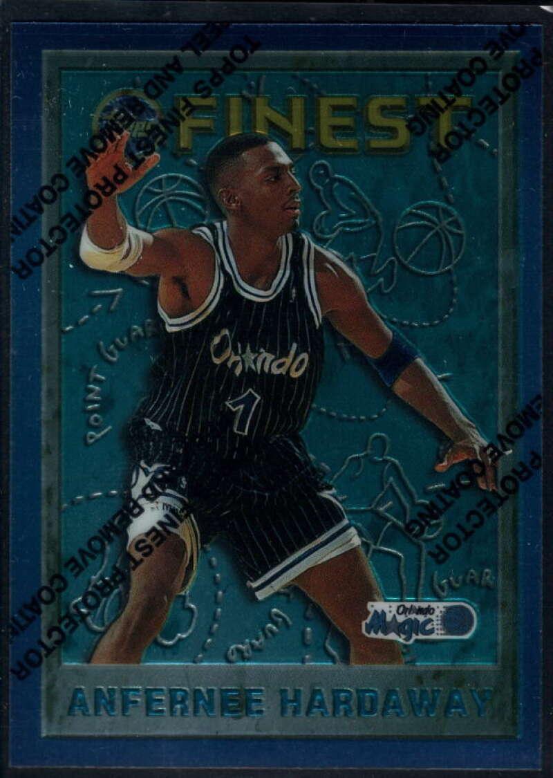 1995-96 Topps Finest #234 Anfernee Hardaway NM-MT+ Orlando Magic