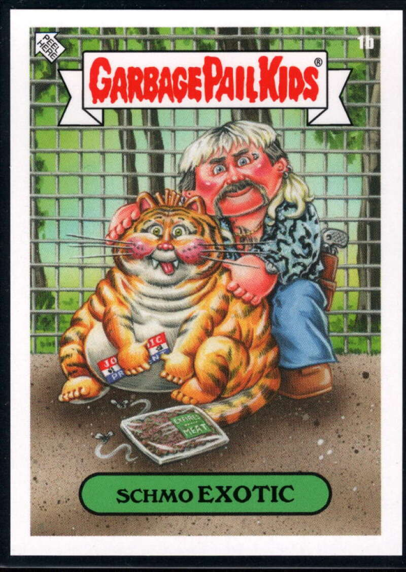 2020 Topps Garbage Pail Kids Gone Exotic #1B Schmo Exotic NM-MT+