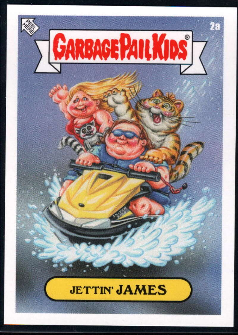 2020 Topps Garbage Pail Kids Gone Exotic #2A Judas James NM-MT+