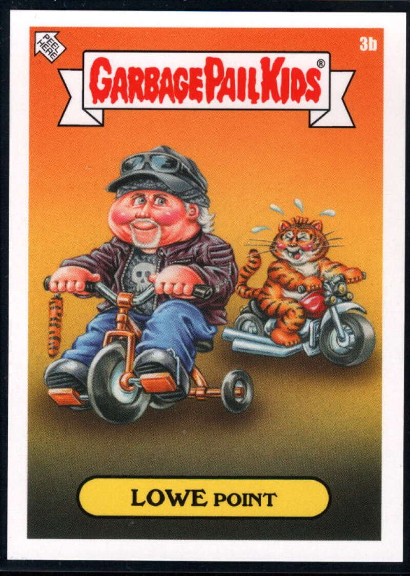 2020 Topps Garbage Pail Kids Gone Exotic #3B Lowe Point NM-MT+