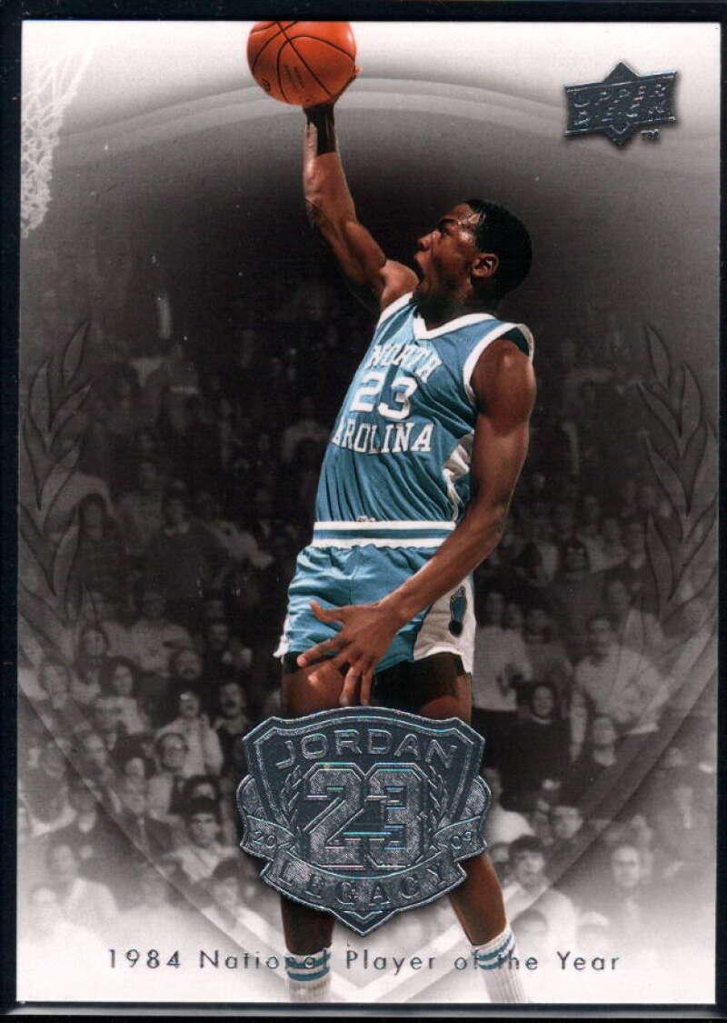 2009-10 Upper Deck Michael Jordan Legacy Collection #2 Michael Jordan NM-MT+ North Carolina Tar Heels