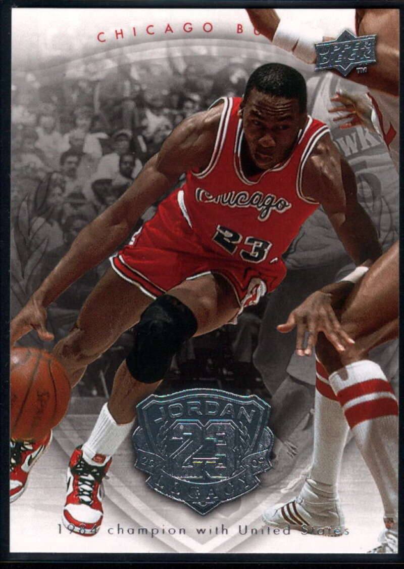 2009-10 Upper Deck Michael Jordan Legacy Collection #31 Michael Jordan NM-MT+ Chicago Bulls