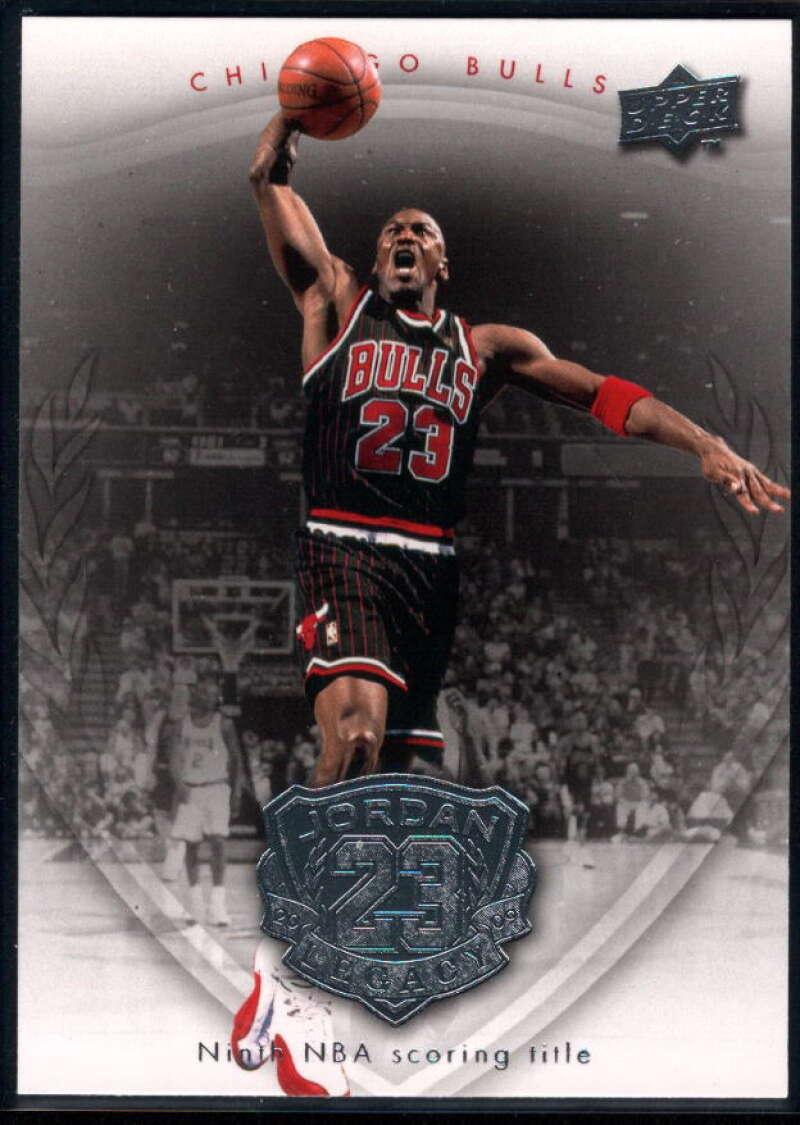 2009-10 Upper Deck Michael Jordan Legacy Collection #46 Michael Jordan NM-MT+ Chicago Bulls