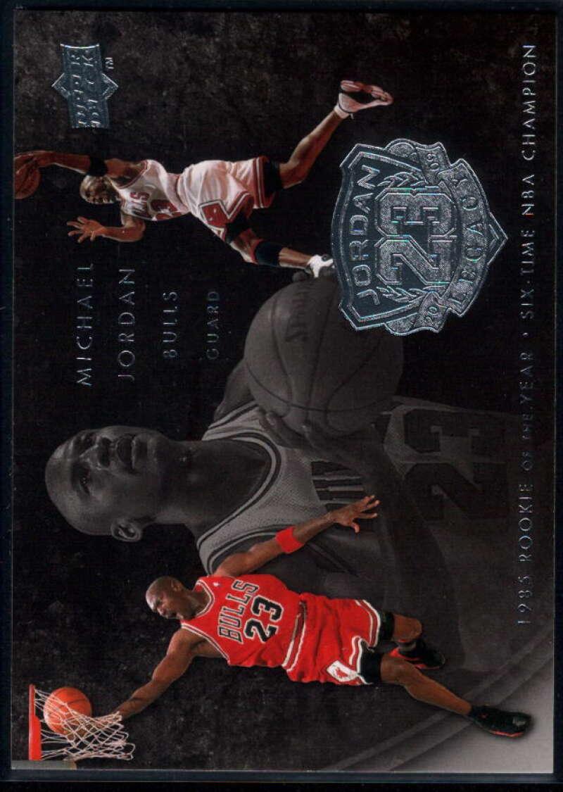 2009-10 Upper Deck Michael Jordan Legacy Collection #50 Michael Jordan NM-MT+ Chicago Bulls