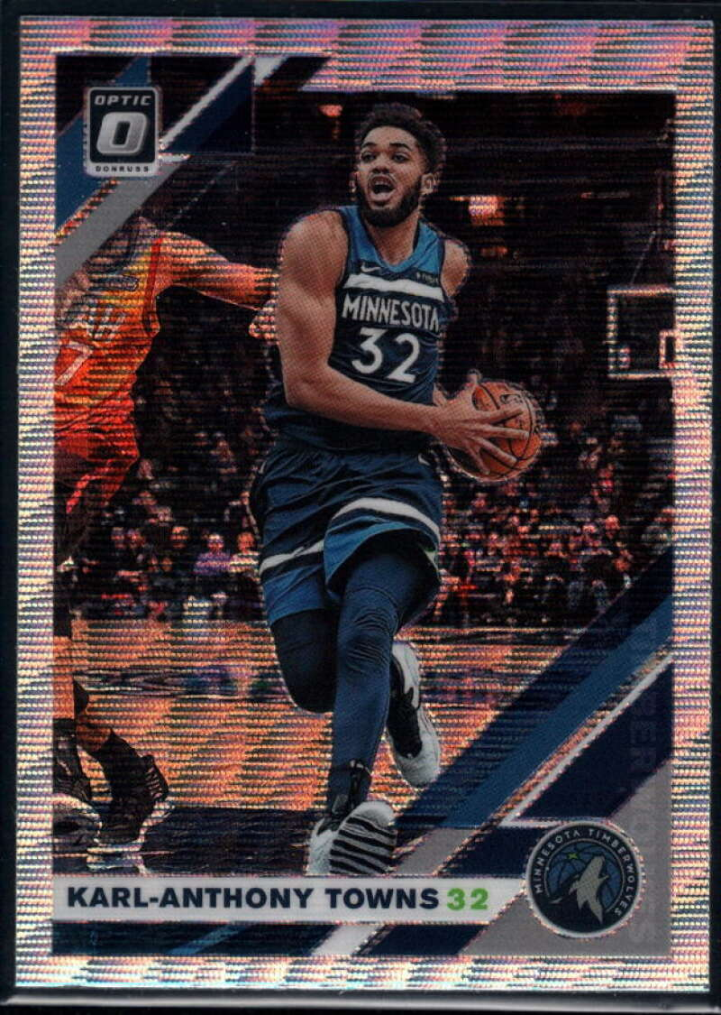 2019-20 Donruss Optic Fanatics Exclusive Set #131 Karl-Anthony Towns NM-MT+ Minnesota Timberwolves