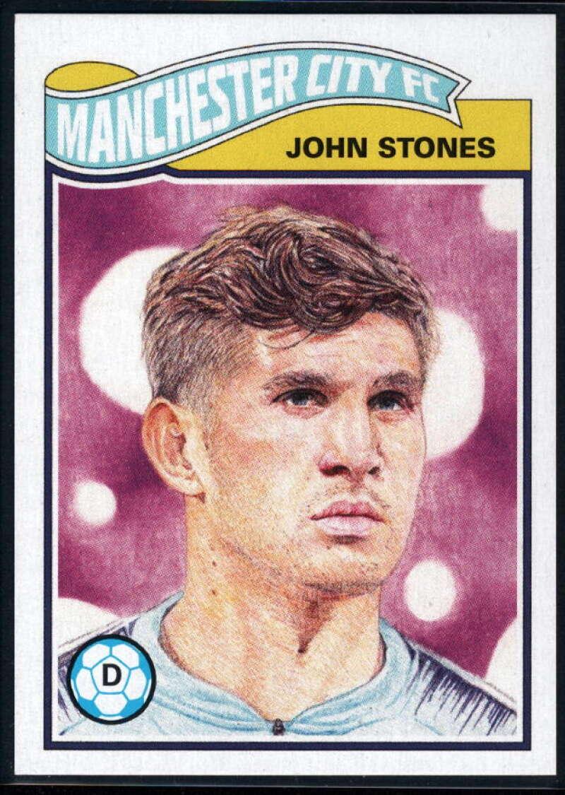 2020 Topps Living Set UEFA Champions League #148 John Stones NM-MT+ Manchester City FC