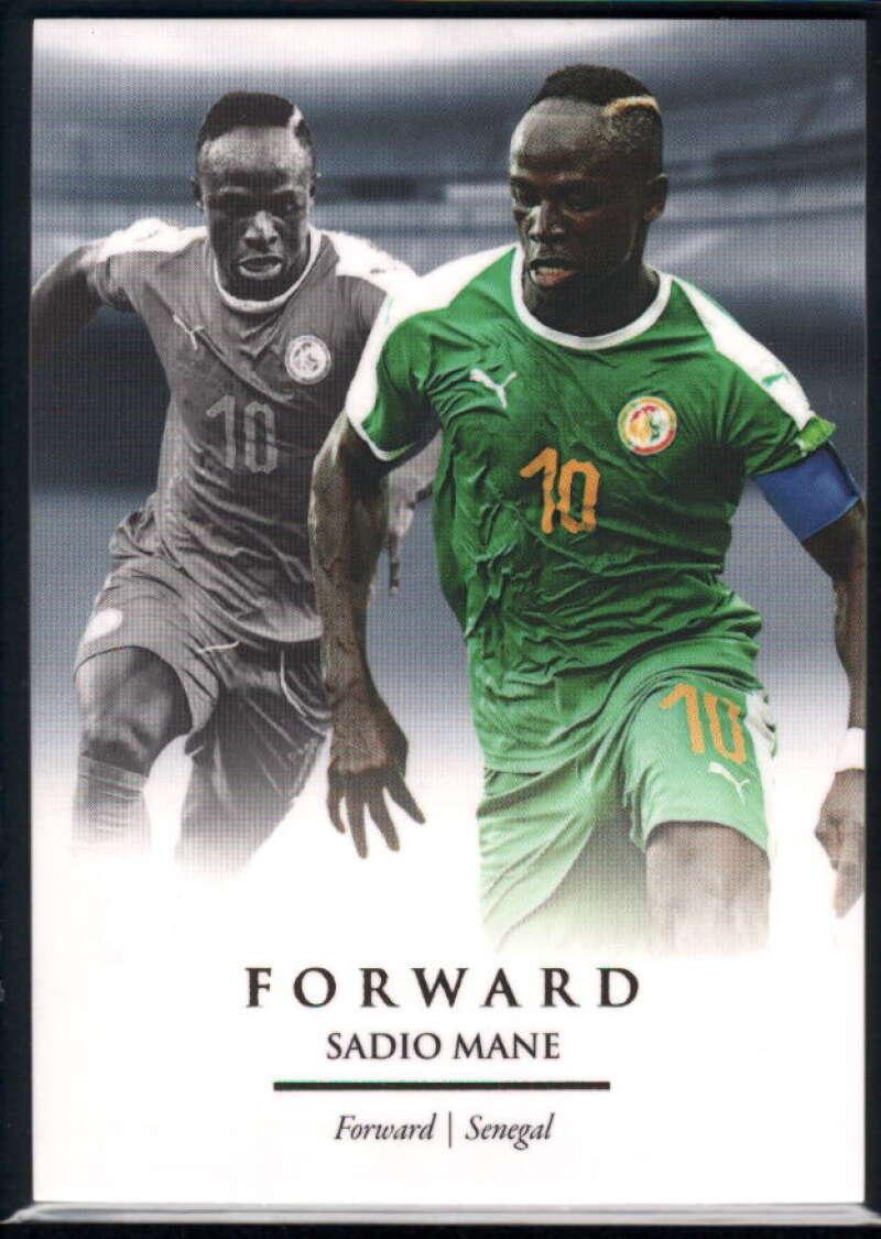 2020 Futera Unique World Football #78 Sadio Mane NM-MT+ Senegal