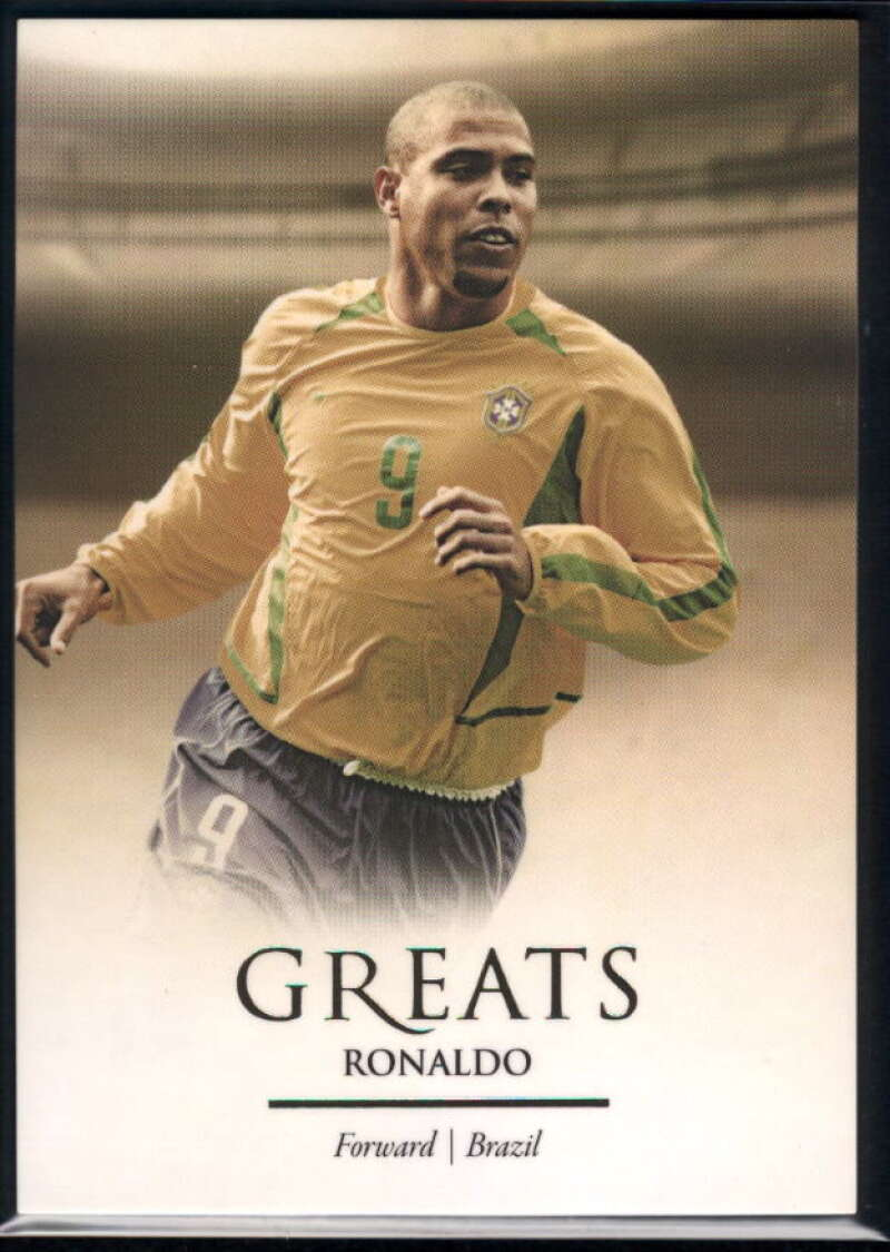 2020 Futera Unique World Football #117 Ronaldo NM-MT+ Brazil