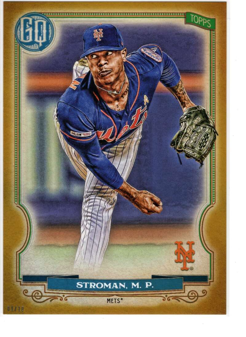 2020 Topps Gypsy Queen 5x7 Gold #245 Marcus Stroman NM-MT+ /10 New York Mets