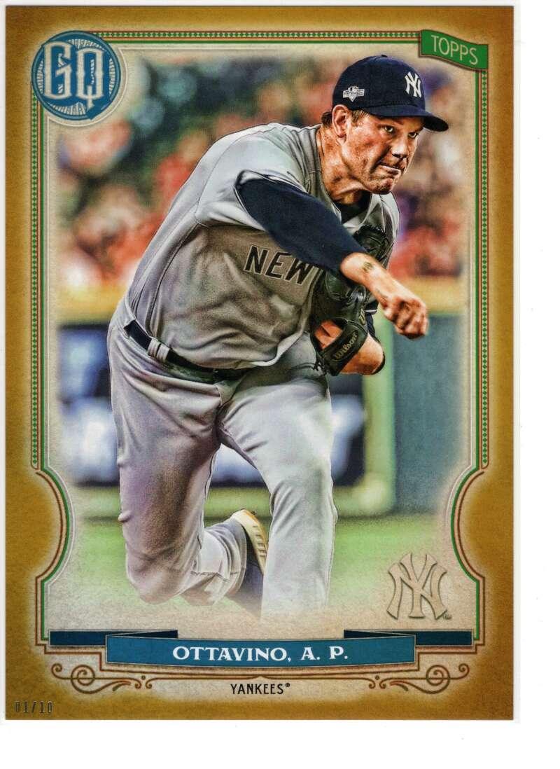 2020 Topps Gypsy Queen 5x7 Gold #169 Adam Ottavino NM-MT+ /10 New York Yankees