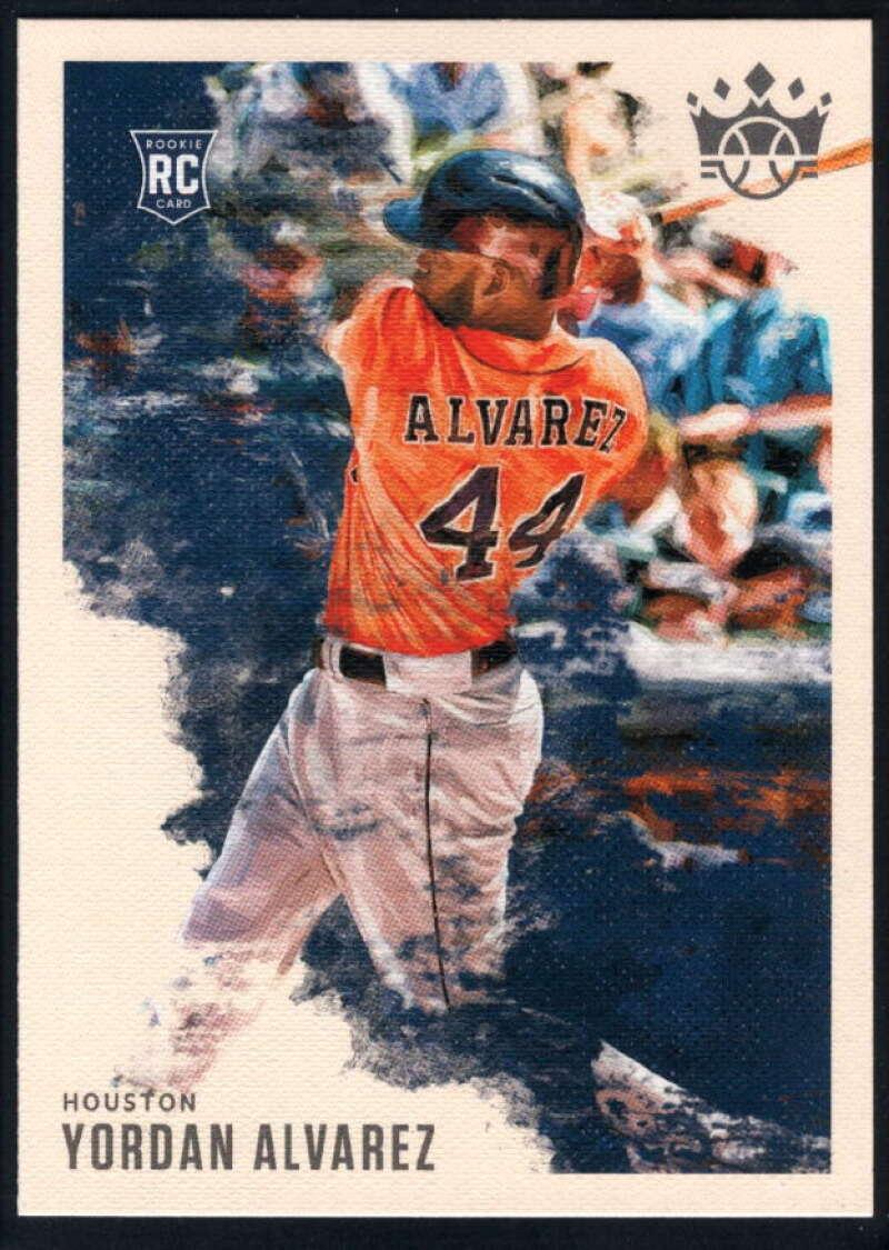 2020 Panini Diamond Kings #58 Yordan Alvarez NM-MT+ Houston Astros