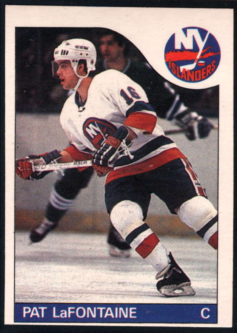 1985-86 O-Pee-Chee #137 Pat LaFontaine NM-MT New York Islanders