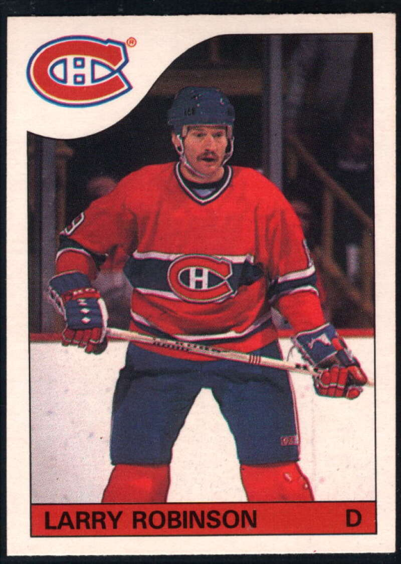 1985-86 O-Pee-Chee #147 Larry Robinson NM-MT Montreal Canadiens