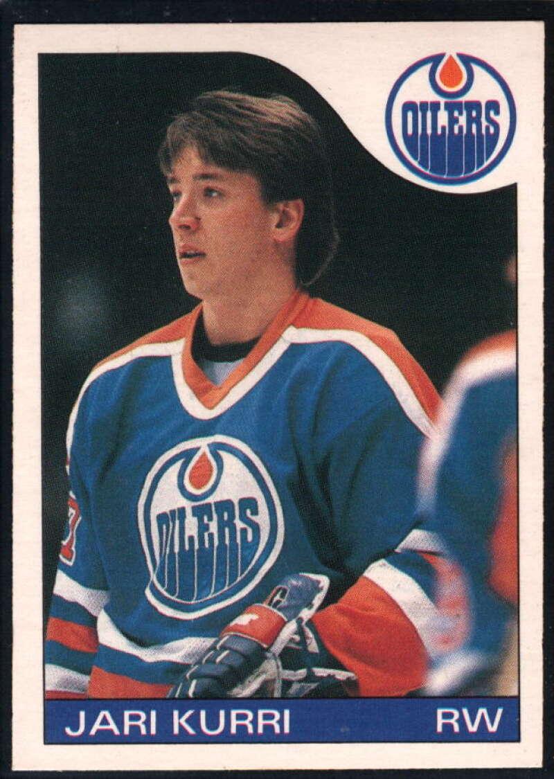 1985-86 O-Pee-Chee #155 Jari Kurri NM-MT Edmonton Oilers
