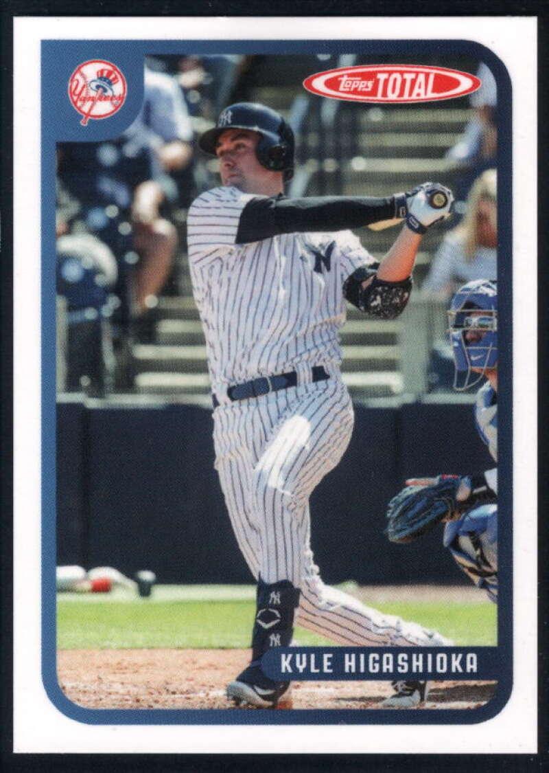 2020 Topps Total #234 Kyle Higashioka NM-MT+ New York Yankees