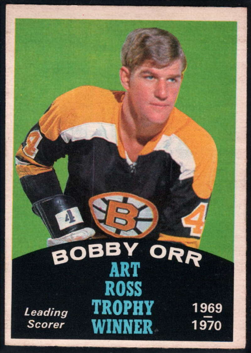 1970-71 O-Pee-Chee #249 Bobby Orr EX/NM Boston Bruins