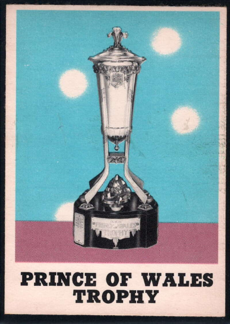 1970-71 O-Pee-Chee #255 Prince of Wales Trophy EX/NM