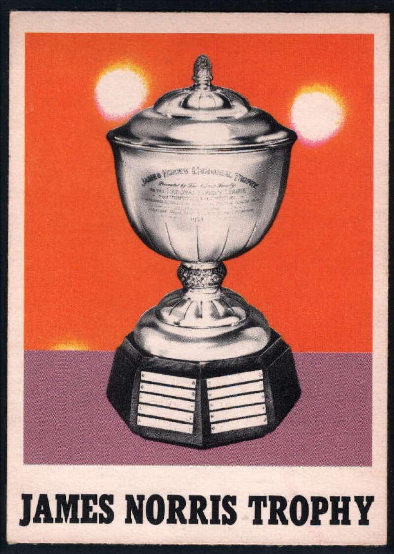 1970-71 O-Pee-Chee #257 James Norris Trophy EX/NM