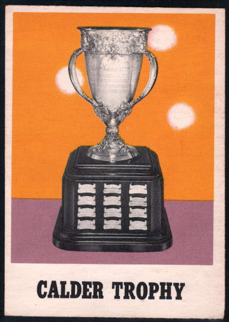 1970-71 O-Pee-Chee #258 Calder Trophy EX++ Excellent++
