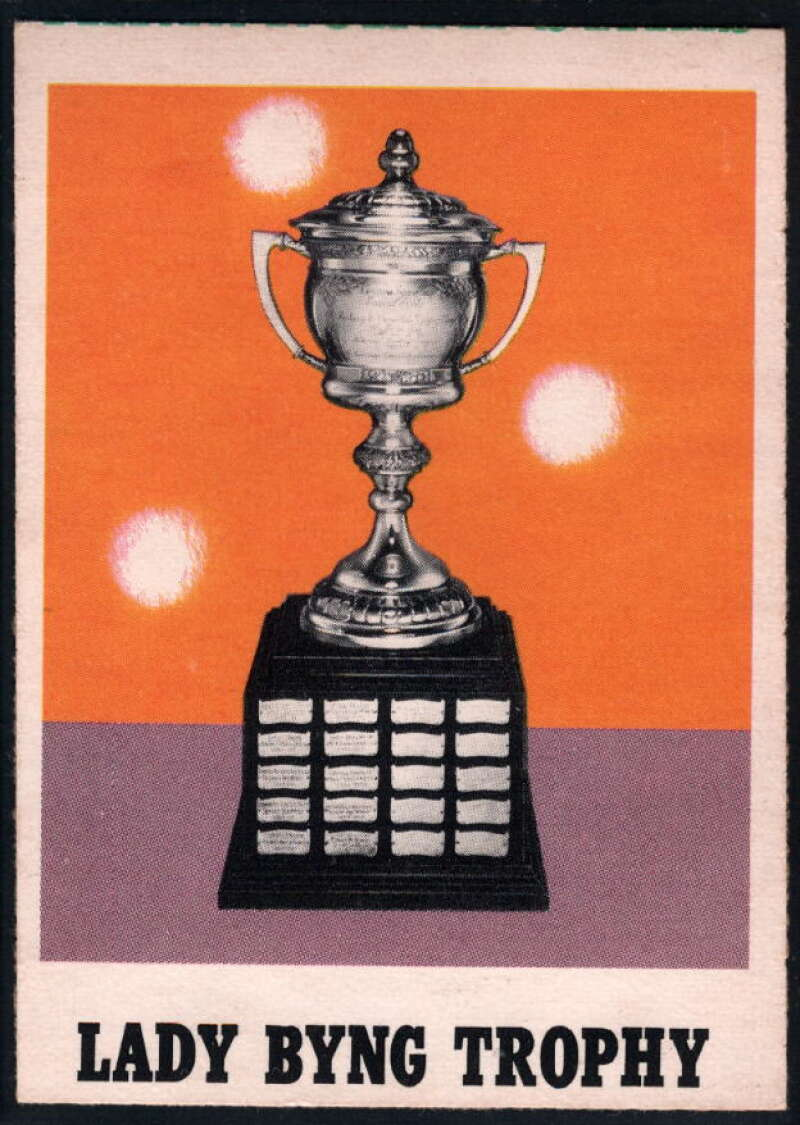 1970-71 O-Pee-Chee #260 Lady Byng Trophy EX++ Excellent++