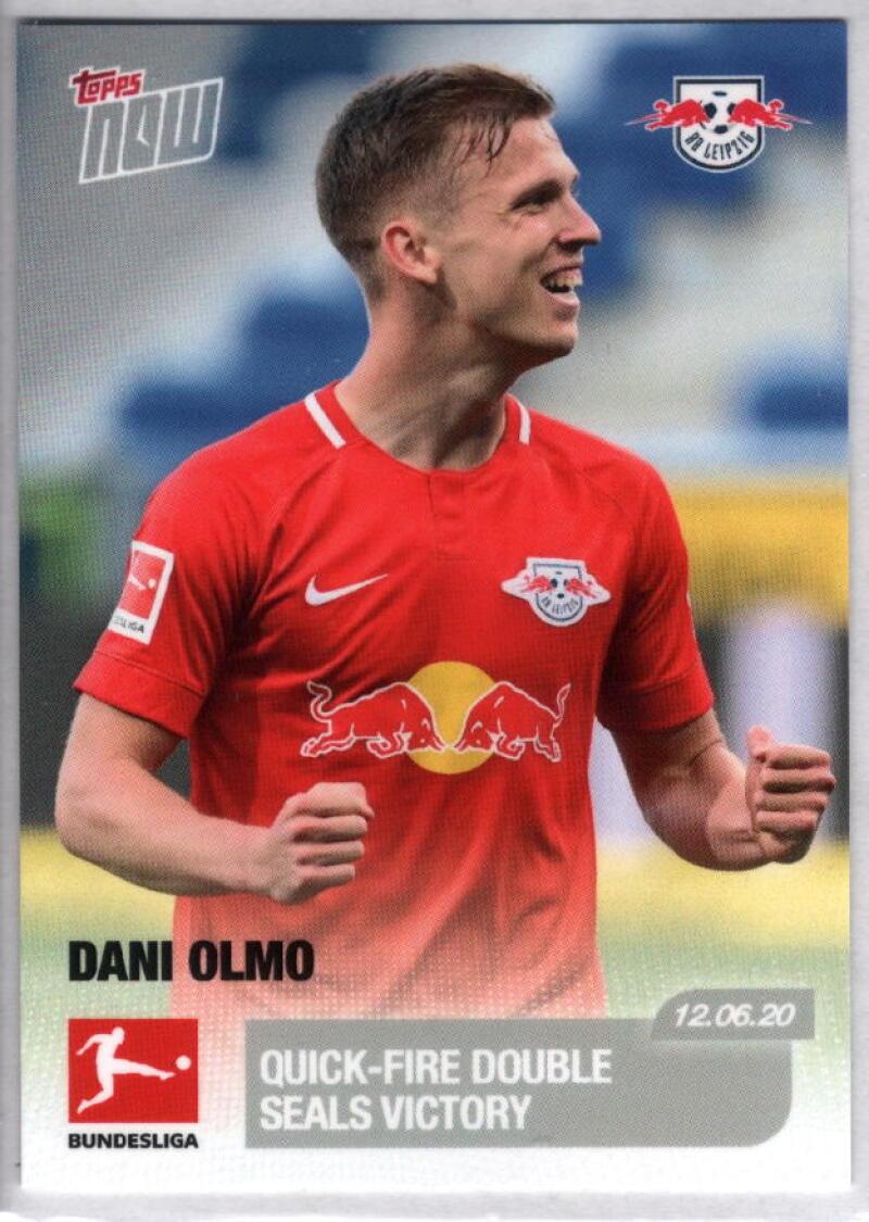 2020 Topps Now Bundesliga #172 Dani Olmo /136 RB Leipzig