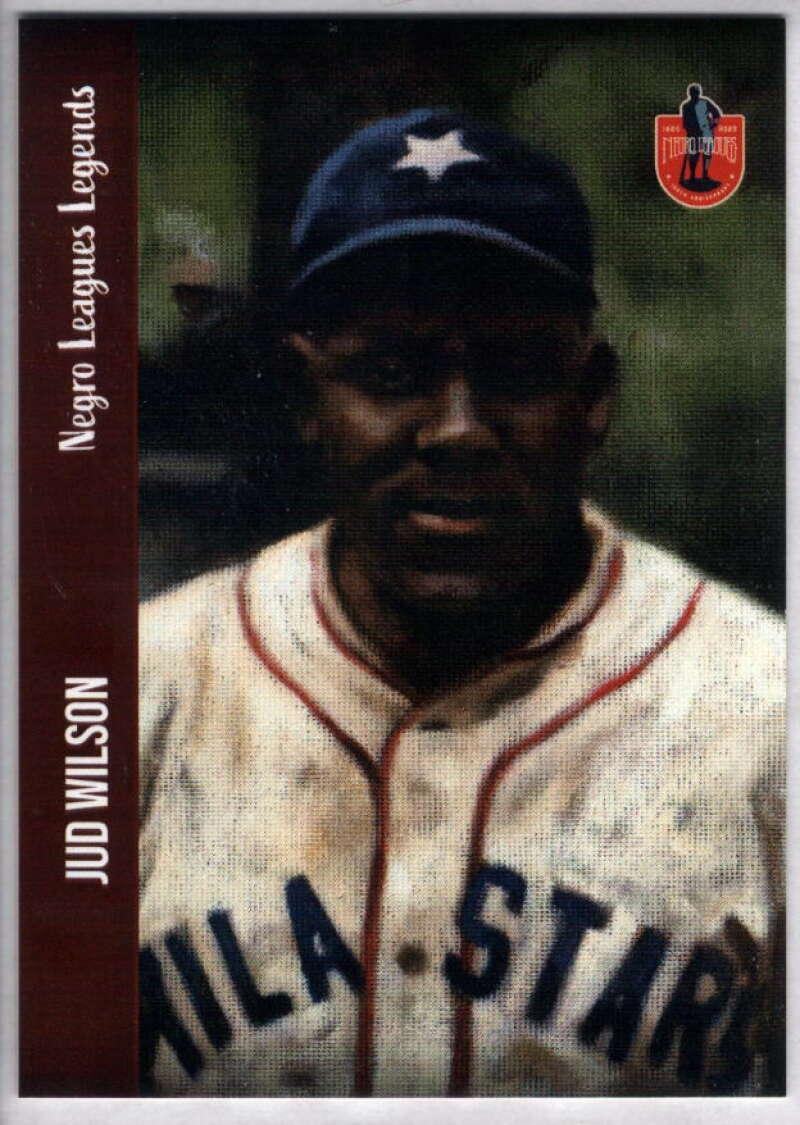 2020 Dreams Fulfilled Negro Leagues Legends #138 Jud Wilson NM-MT+ /5000 Philadelphia Stars
