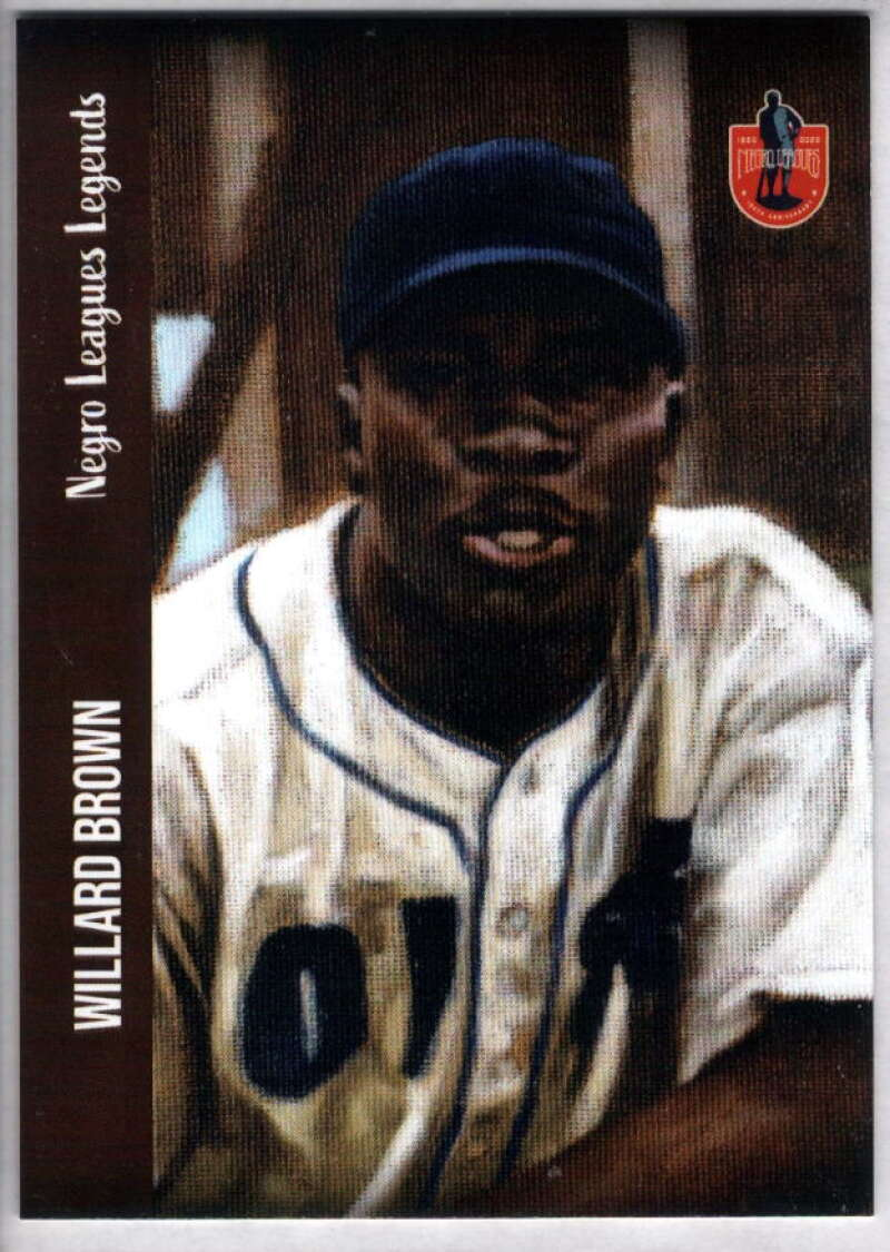2020 Dreams Fulfilled Negro Leagues Legends #141 Willard Brown NM-MT+ /5000 Overseas Invasion Service Expedition All-Stars