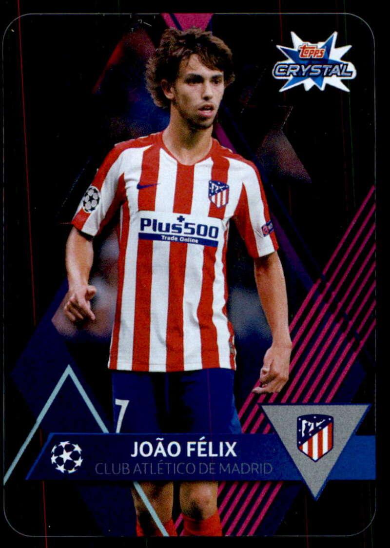 2019-20 Topps UEFA Champions League Crystal #6 Joao Felix NM-MT+ Atletico Madrid