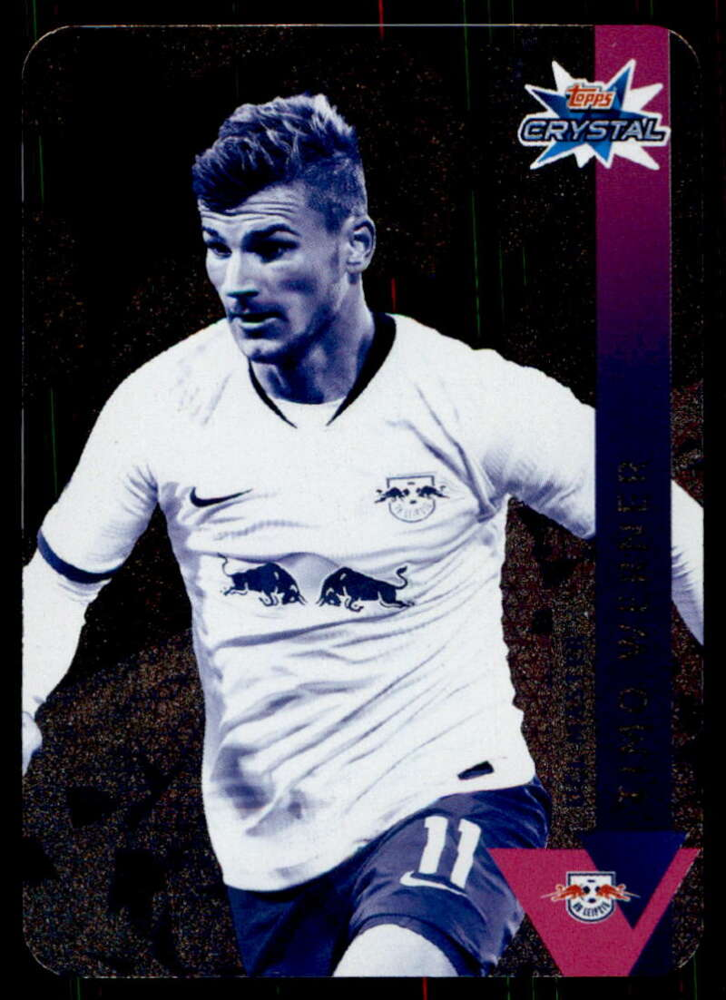 2019-20 Topps UEFA Champions League Crystal #118 Timo Werner NM-MT+ FC Red Bull Salzburg