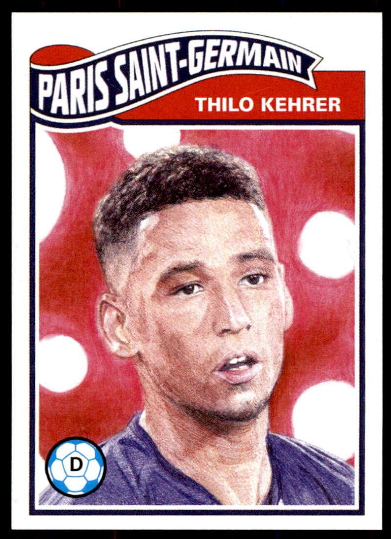 2020 Topps Living Set UEFA Champions League #187 Thilo Kehrer NM-MT+ Paris Saint-Germain