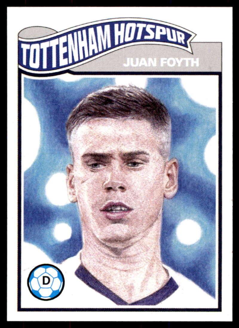 2020 Topps Living Set UEFA Champions League #188 Juan Foyth NM-MT+ Tottenham Hotspur