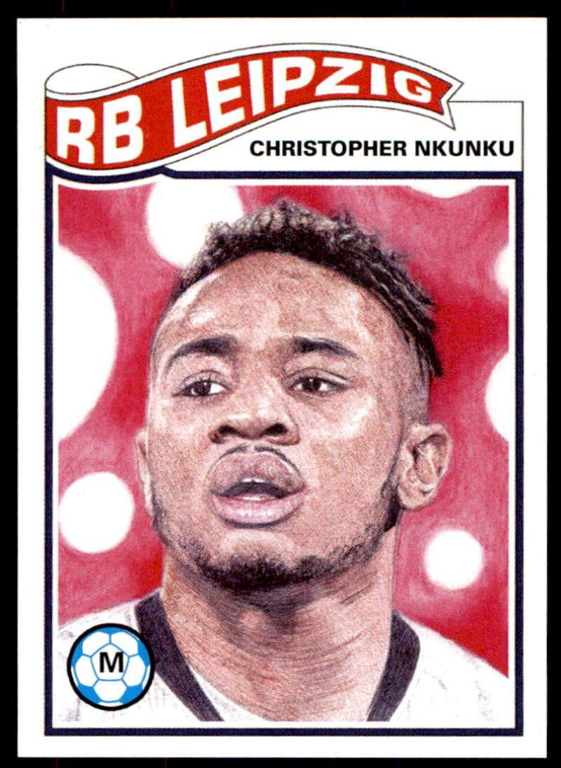 2020 Topps Living Set UEFA Champions League #189 Christopher Nkunku NM-MT+ RB Leipzig