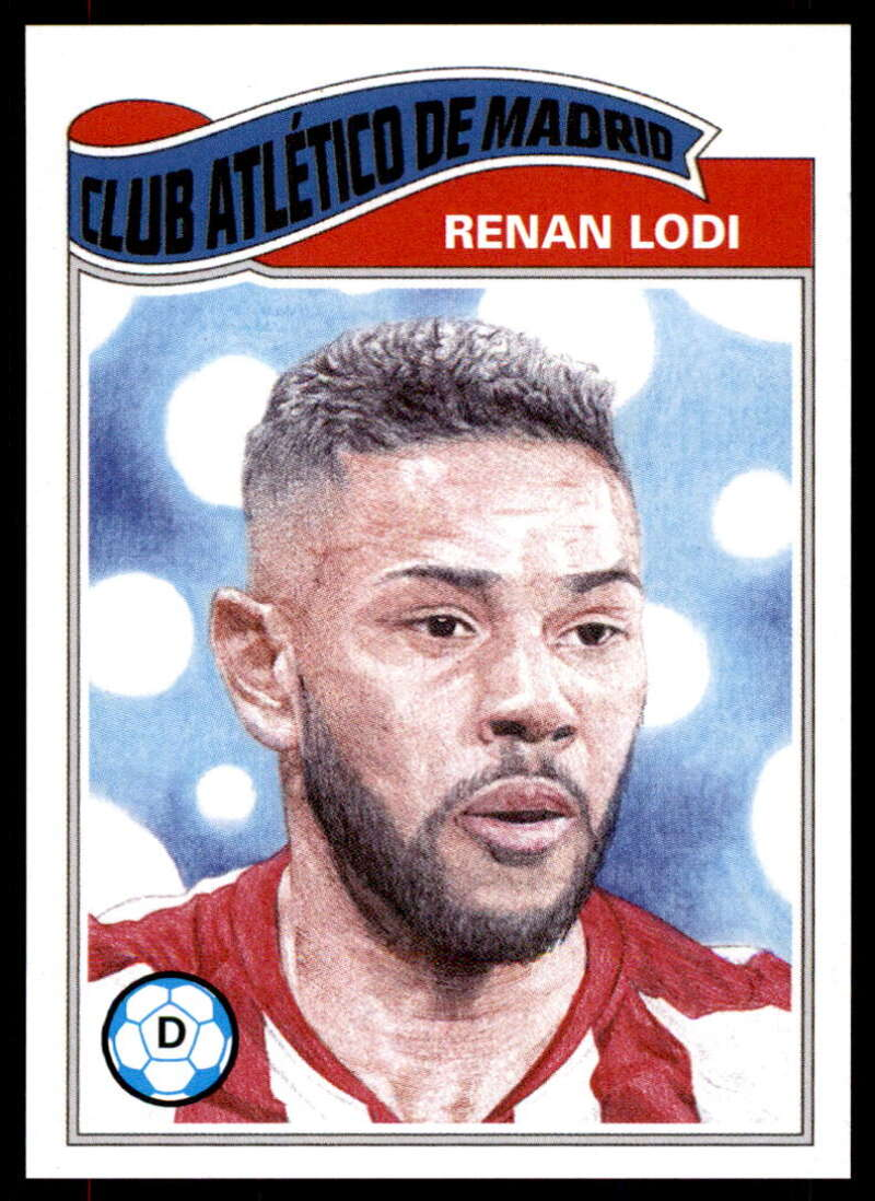 2020 Topps Living Set UEFA Champions League #190 Renan Lodi NM-MT+ Club Atletico de Madrid