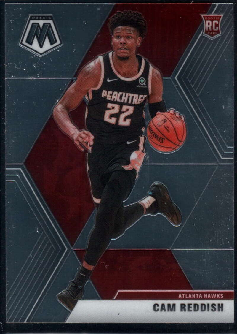 2019-20 Panini Mosaic #241 Cam Reddish NM-MT+ RC Atlanta Hawks