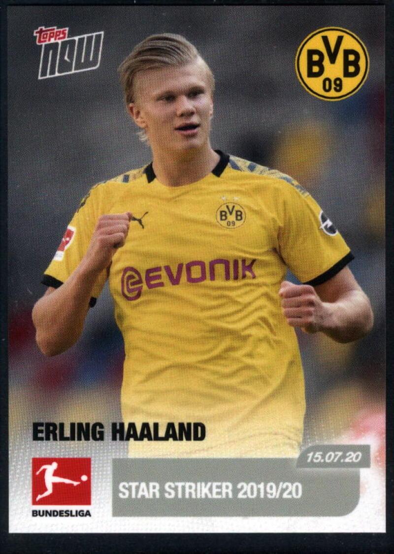 2020 Topps Now Bundesliga #195 Erling Haaland /1655