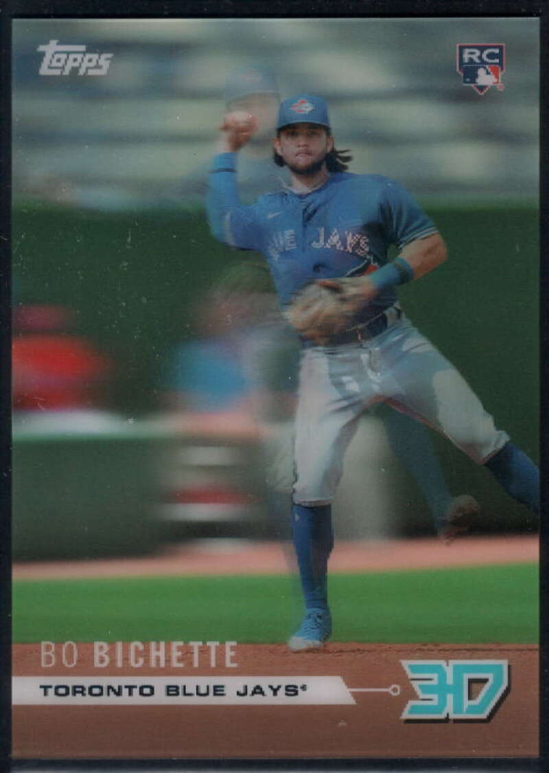 2020 Topps On Demand 3D Rookie Class Motion #M-3 Bo Bichette NM-MT+ RC Toronto Blue Jays