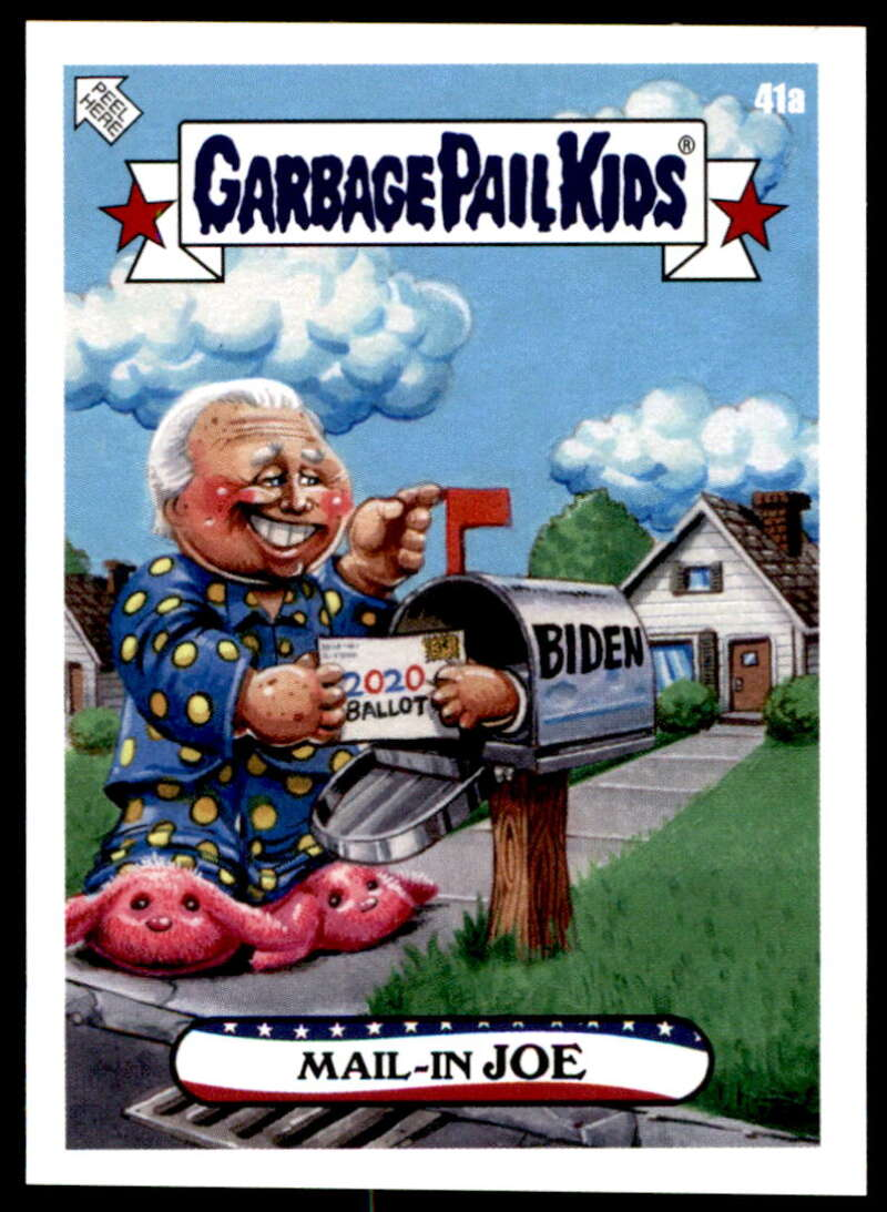 2020 Topps Garbage Pail Kids disg-Race to the White House #41A Mail-In JOE NM-MT+