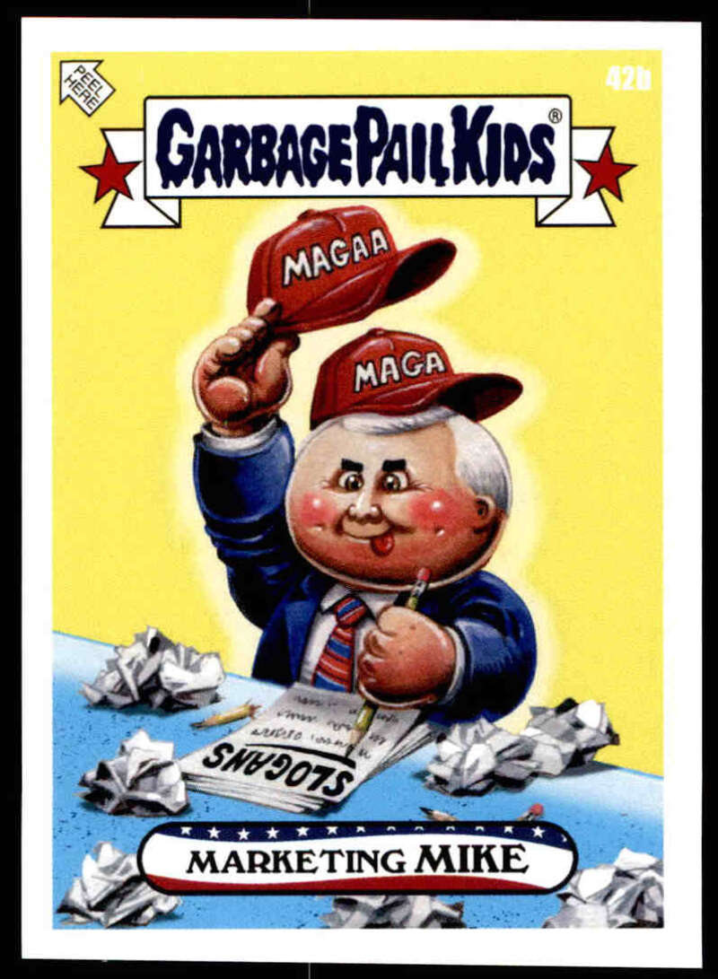 2020 Topps Garbage Pail Kids disg-Race to the White House #42B Marketing Mike NM-MT+