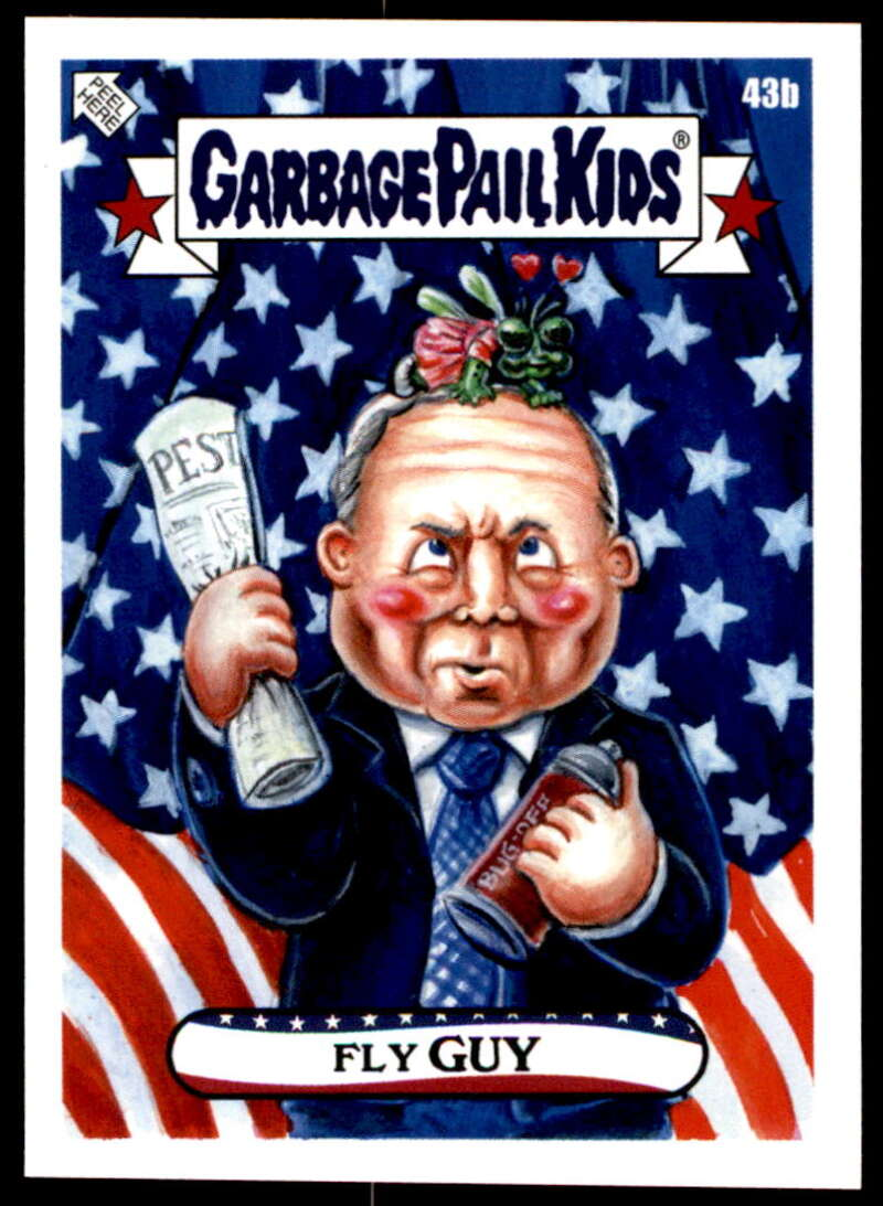 2020 Topps Garbage Pail Kids disg-Race to the White House #43B Fly Guy NM-MT+