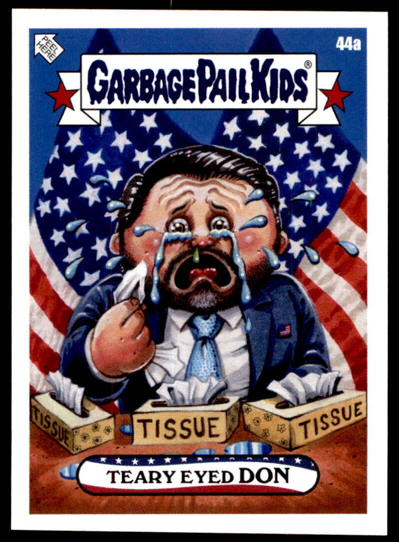 2020 Topps Garbage Pail Kids disg-Race to the White House #44A Teary Eyed Don NM-MT+