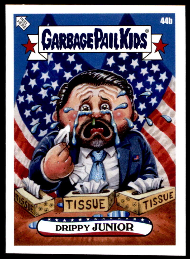 2020 Topps Garbage Pail Kids disg-Race to the White House #44B Drippy Junior NM-MT+