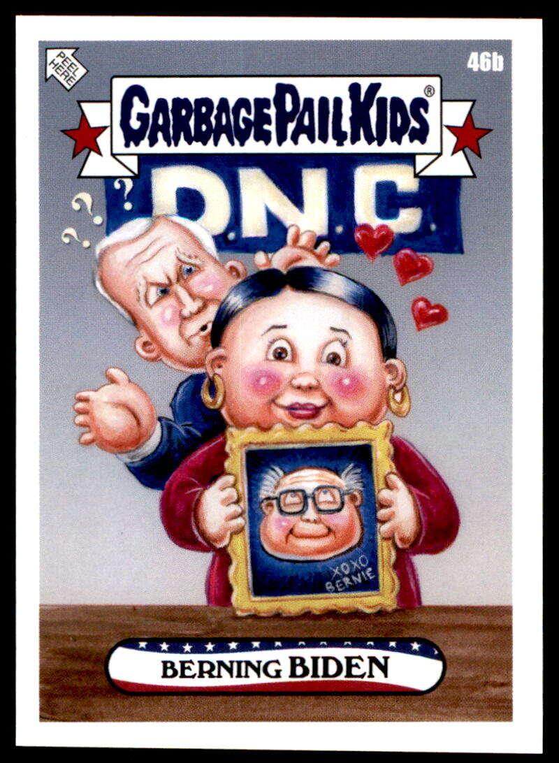 2020 Topps Garbage Pail Kids disg-Race to the White House #46B Berning Biden NM-MT+