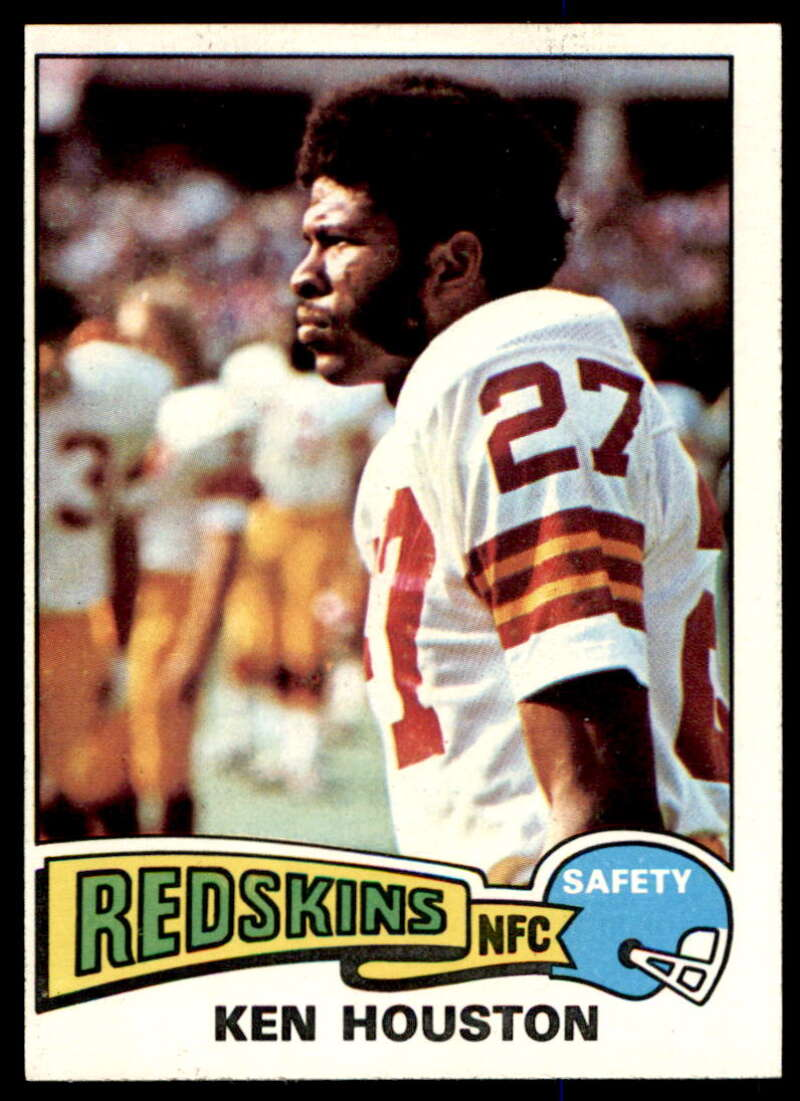1975 Topps #519 Ken Houston NM Near Mint Washington Redskins