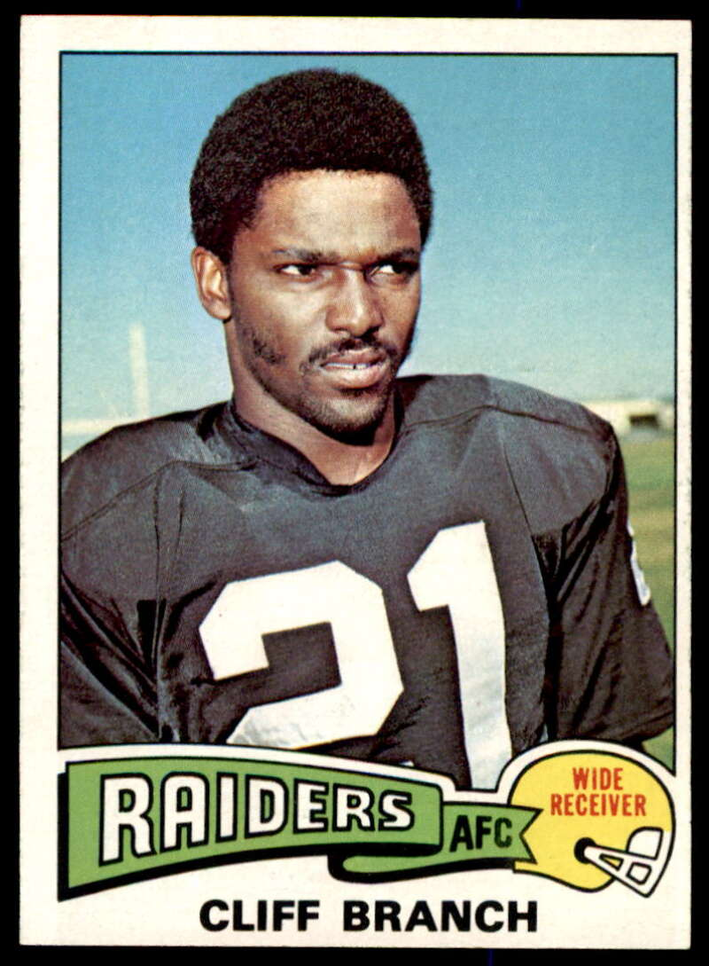 1975 Topps #524 Cliff Branch NM Near Mint RC Oakland Raiders