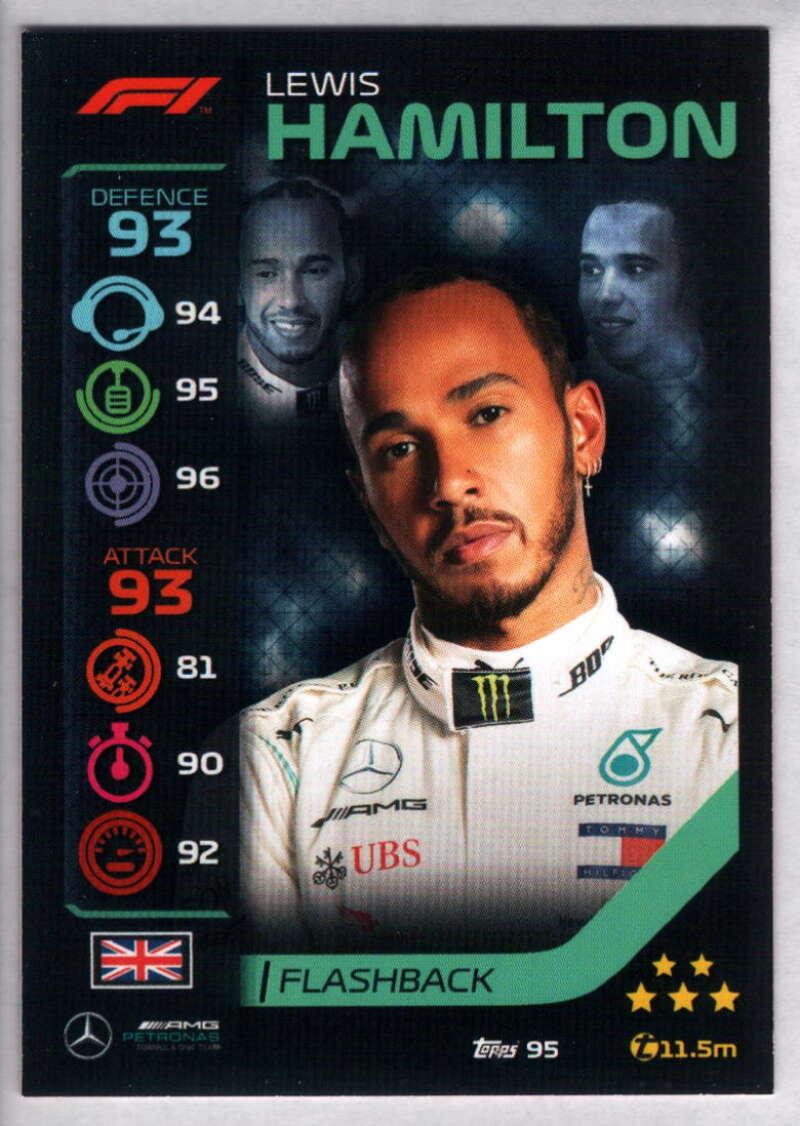 2020 Topps Turbo Attax Formula 1 #95 Lewis Hamilton NM-MT+ Mercedes