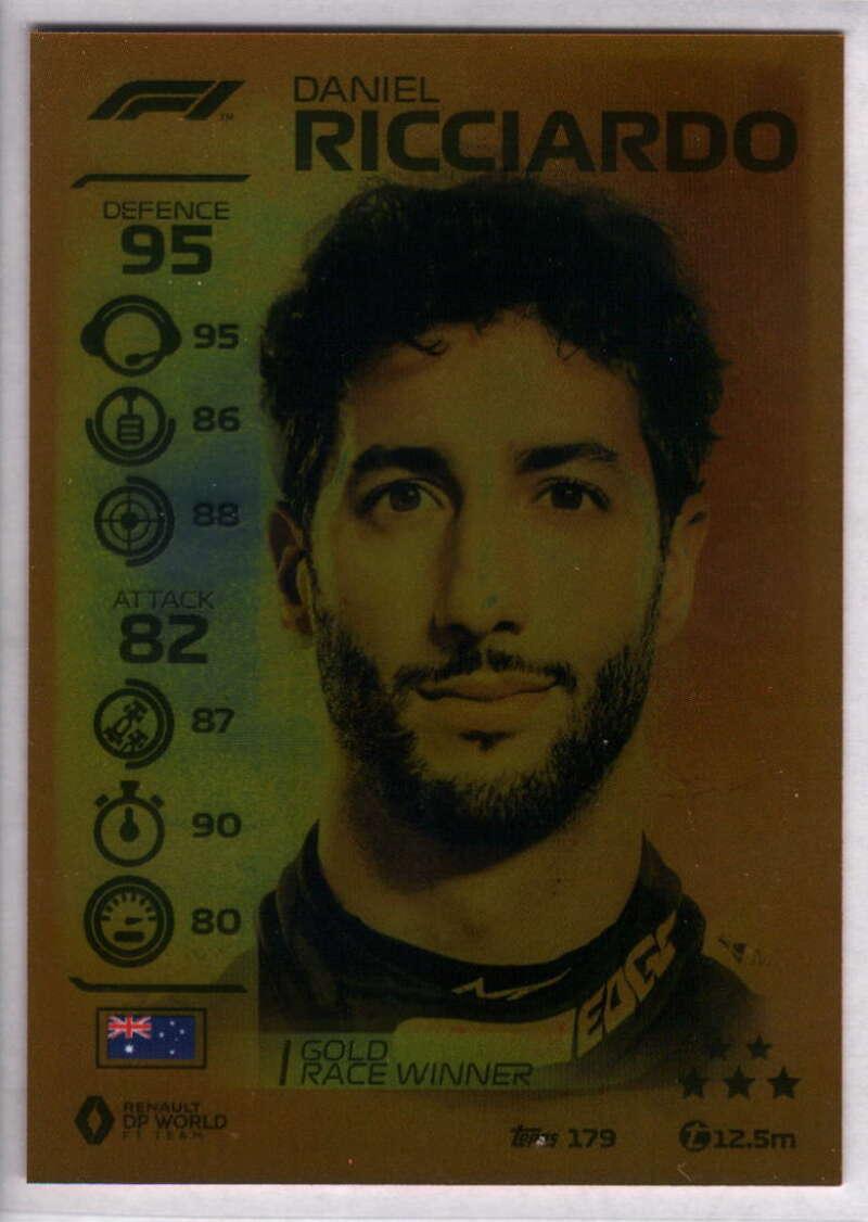 2020 Topps Turbo Attax Formula 1 #179 Daniel Ricciardo NM-MT+ Renault