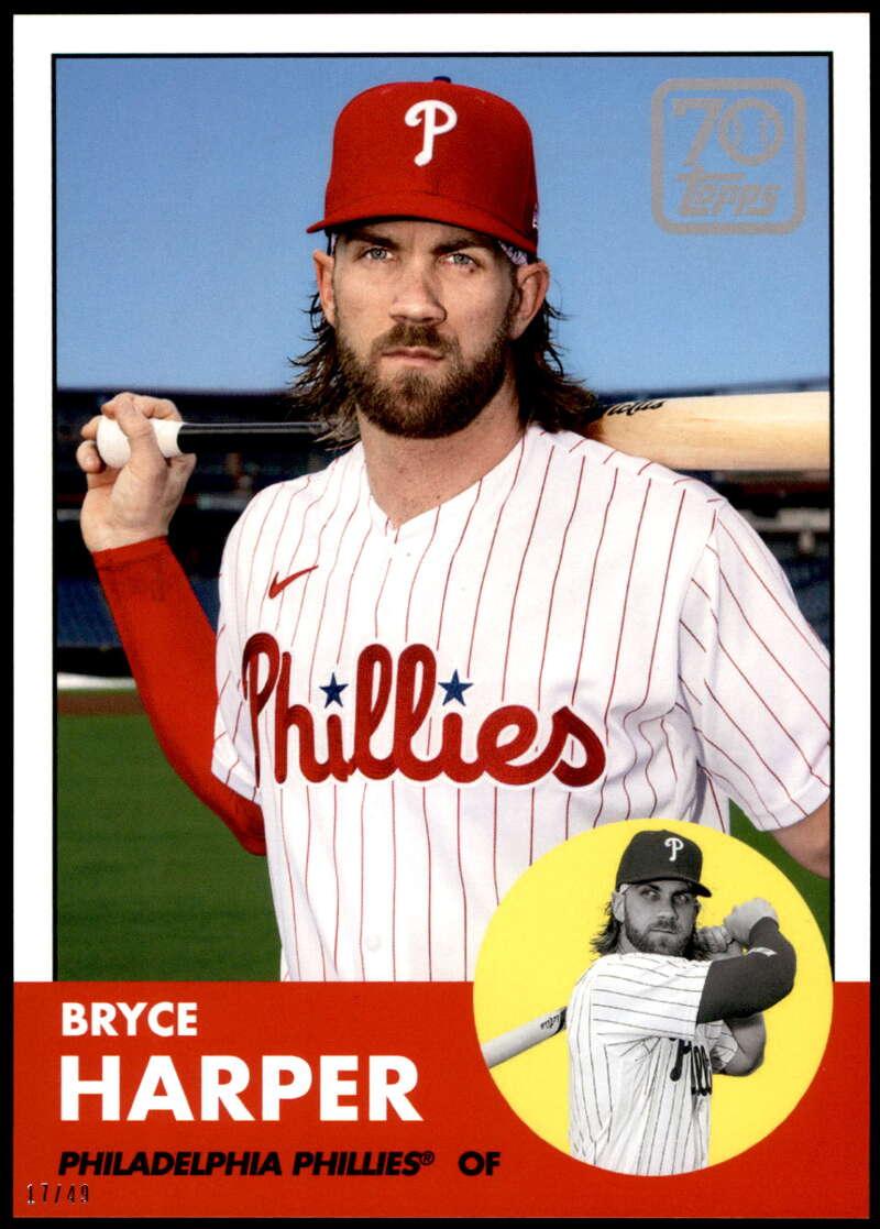 Bryce Harper Philadelphia Phillies Assorted Baseball Cards 5 Card Lot